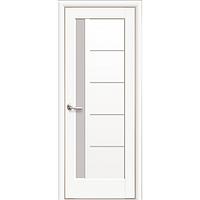 Двери межкомнатные Новый Стиль НОСТРА Грета сатин 40x800x2000 мм белый матовый