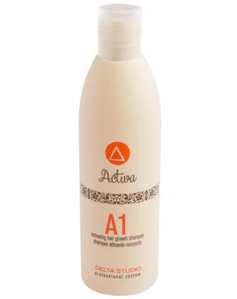 Лечебный шампунь для стимуляции роста волос Delta Studio Activa A1 Shampoo