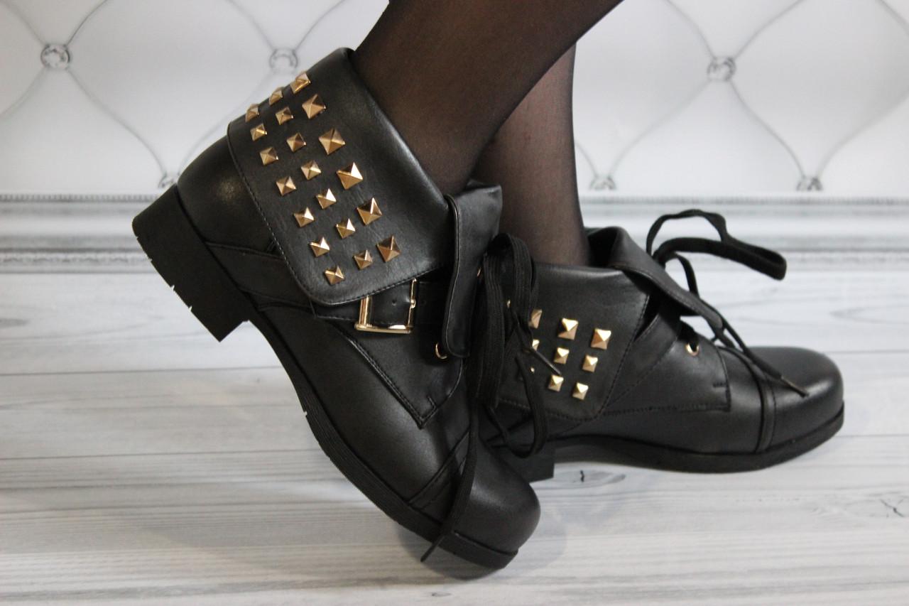 Женские ботинки короткие весна