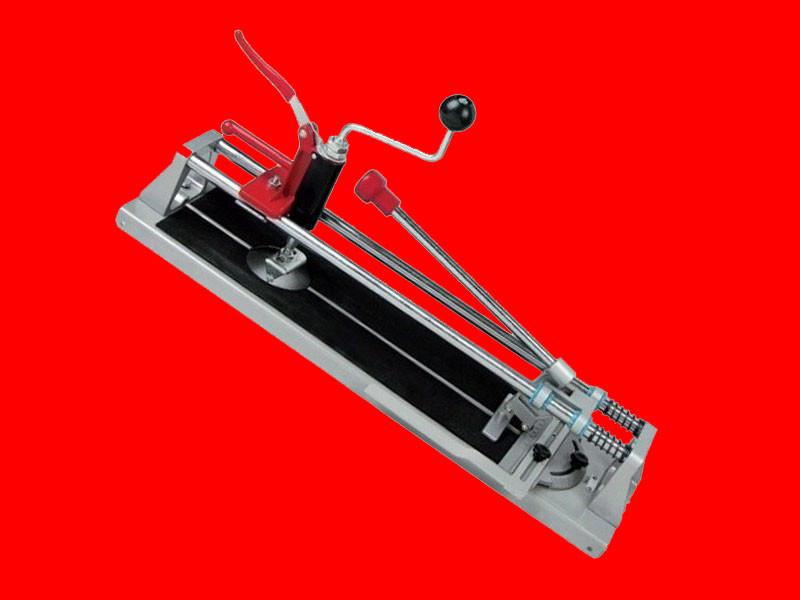 Плиткорез с резаком для отверстий Бригадир на 400 мм