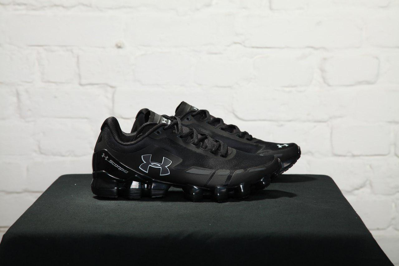 reputable site c78b0 6e574 Мужские кроссовки Under Armour Scorpio Running shoes black and silver, Копия