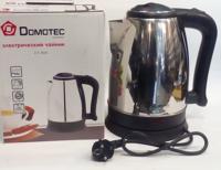 Электрический чайник DOMOTEC PLUS DT 805 (1.8 L), электрочайник, чайник для кухни
