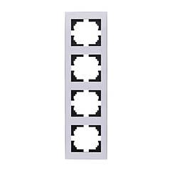 Рамка для розеток и выключателей Lezard Rain 703-0202-154
