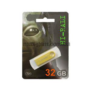 USB 32Gb Hi-Rali Shuttle gold