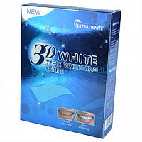 Отбеливающие полоски для зубов 3D WHITE TEETH WHITENING STRIPS, Отбеливание зубов, Полоски для отбеливания