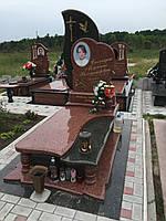 Гранитный памятник ( Образец 855)