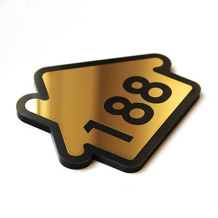 Номер квартиры «Домик» Gold, фото 2