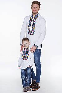 """Парні вишиванки Тато і син """" Кіткова Галявина """""""