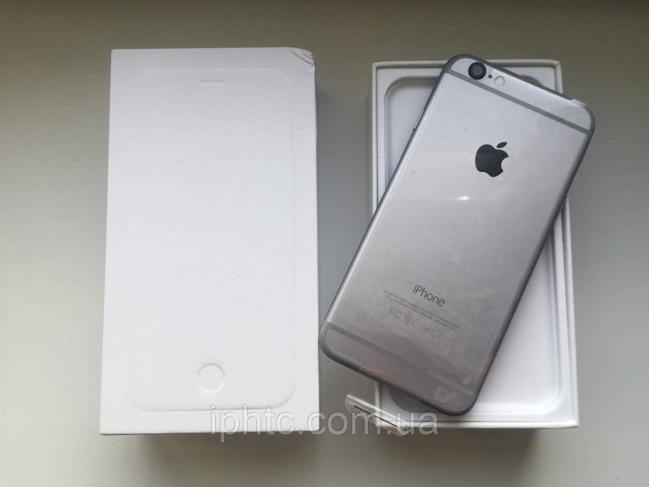 Apple iPhone 6 16GB Space Grey /Новый / NeverLock Запечатан, фото 1