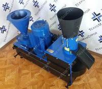 Гранулятор ГКМ-150+ (с зерноизмельчителем + сенорезка + экструдер) без двигателя