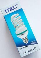 Светодиодная лампа LED UKC 220V 12W E27 Спиральная 4025, Энергосберегающая лампа, Лампа спираль, Лампочка