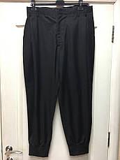 Брюки мужские черные на манжете Antony Morato, фото 3