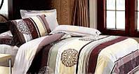 Комплект постельного белья, Ванильно-шоколадные полосы