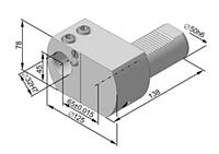 VDI держатель для инструмента с цилиндрическим хвостовиком 291.342.241