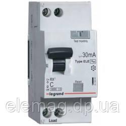 20А Дифференциальный автоматический выключатель 1П+Н C20А 30MA 419400 Legrand RX³