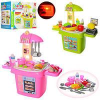 Игровой набор кухня 51,5-53-25 см, продукты без функций коробке