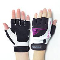 Женские тренировочные перчатки для фитнеса Stein Nayomi GLL-2344