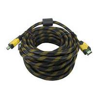 Идеальный кабель Hdmi to Hdmi 20м 1080p усиленный в обмотке. Хорошее качество. Доступная цена. Код: КГ3383
