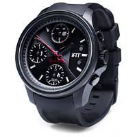 Часы фитнес-браслет iFit Classic черный, мужские