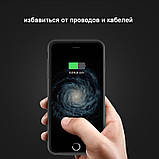 Чехол аккумулятор Baseus Ultra Slim Black для iPhone 7 2500mAh (ACAPIPH7-BJ01), фото 5