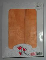 Подарочный набор полотенец микрофибра баня+лицо