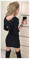 Платье женское с лентой  сзади  !, фото 1
