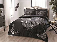 TAC евро комплект  постельного белья saten  Lumina black