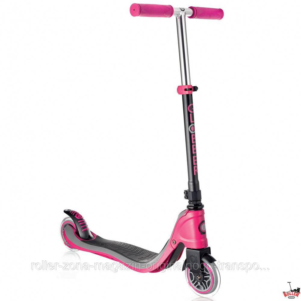 Самокат Globber My TOO FIX UP 125 Розово-черный