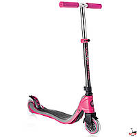 Самокат Globber My TOO FIX UP 125 Розово-черный, фото 1