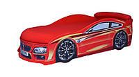 Кроватка машинка  БМВ (красная)