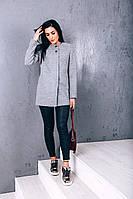 Пальто O.Z.Z.E Д269 40 шерсть серый