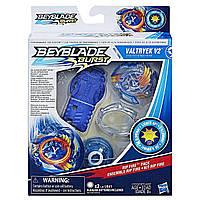 Бейблейд волчок Волтраек со световыми эфектами и пусковым устройством Beyblade Burst Rip Fire Valtryek V2