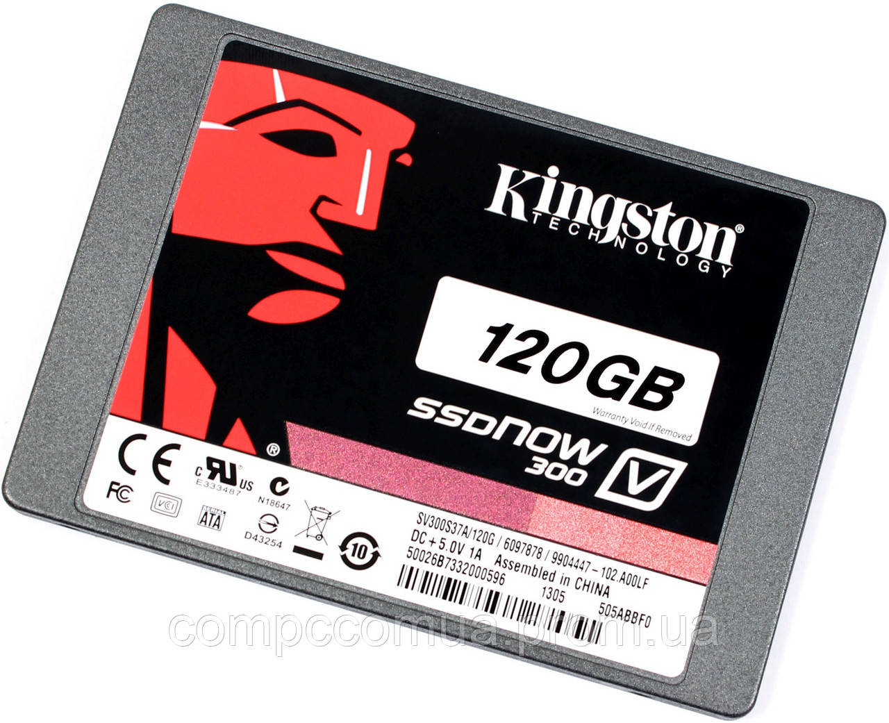 Ssd Kingston V300 120gb Mlc 25 Sataiii 885 Sata Iii Compccomua