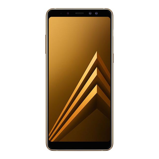 Смартфон Samsung Galaxy A8+ Gold (SM-A730FZDDSEK)