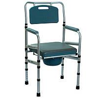 Складной стул-туалет с мягким сиденьем, OSD-LY901