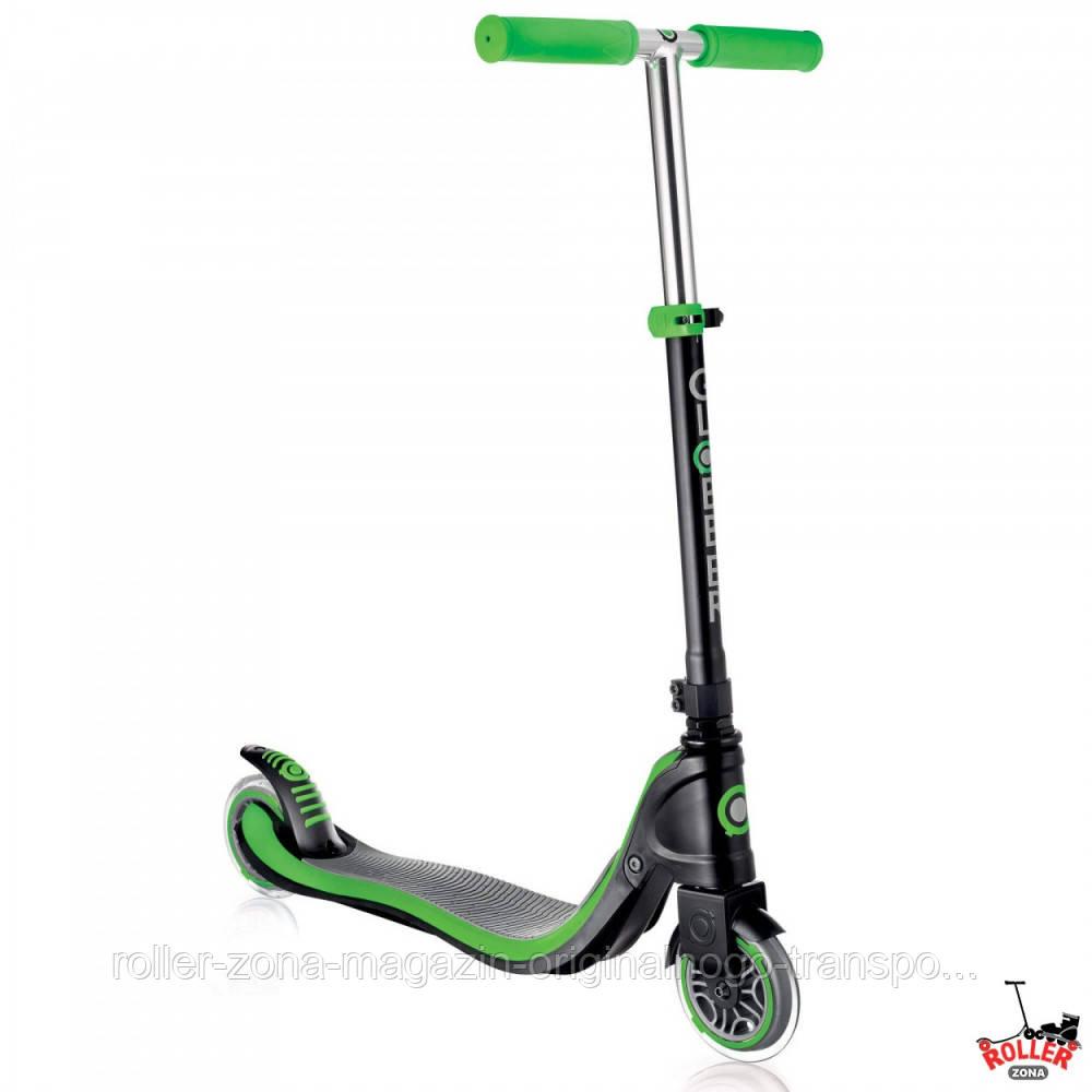 Самокат Globber My TOO FIX UP 125 Черно-зеленый, фото 1