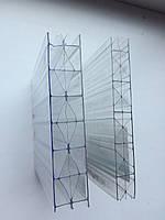Сотовый поликарбонат ТМ BEROLUX (Беролюкс) 16мм прозрачный Ж-образный