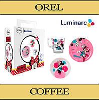 Детский набор посуды Disney Luminarc Минни Маус