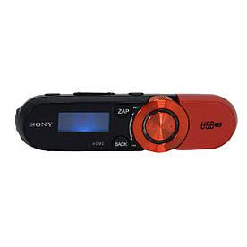 MP3 плеер Sony YT-03 с LCD экраном, наушниками и FM радио, Красный