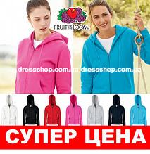 Женская премиум куртка-толстовка с капюшоном Fruit of the loom