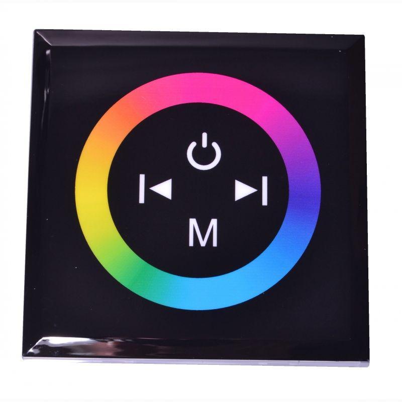 RGB контроллер Touch Panel стационарный (Black) 12A