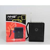 Портативная колонка радиоприемник NNS NS 018U, FM приемник с MP3 проигрывателем