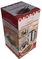Шашлычница электрическая на 6 шампуров Чудесница GH-8612, шашлычница кухонная