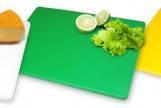 Доска кухонная зеленая 40х30 см h2 см пластик FoREST