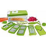 Овощерезка универсальная Nicer Dicer Plus (измельчитель овощей и фруктов), фото 2