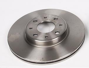 Тормозной диск Fiat Doblo / Bravo / Doblo с 2001 ABS 16046 Нидерланды 4 отв  (257.5X20MM), фото 2