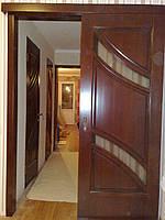 Двери межкомнатные из натурального дерева (ольха) 2000х800мм, ТИК -2