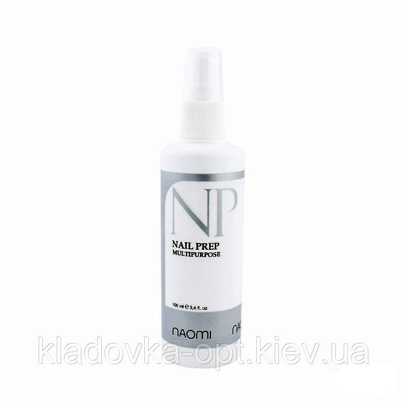 Обезжириватель Naomi Nail Prep Multipurpose (100 мл)