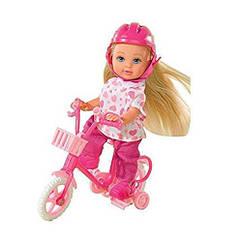 П,Кукла Evi Love My First Bike Doll Эви на велосипеде