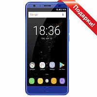 "★Смартфон 5.5"" OUKITEL K8000 4/64GB Blue 8 ядер камера 13 Мп автофокус 8000 mAh Android 7.0 гнутое стекло 2.5D"